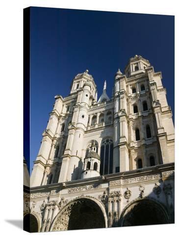 Eglise St. Michel, Dijon, Cote D'Or, Burgundy, France-Walter Bibikow-Stretched Canvas Print
