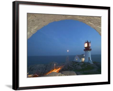 Lindesnes Fyr, Norway-Russell Young-Framed Art Print