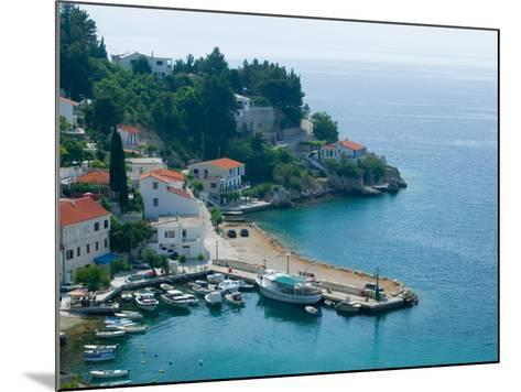 View of Coastline, Dalmatia, Croatia-Russell Young-Mounted Photographic Print