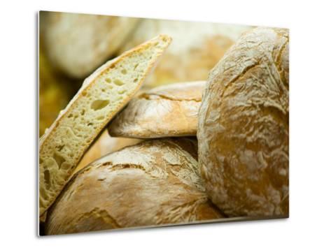 Fresh Bread, Trogir, Croatia-Russell Young-Metal Print