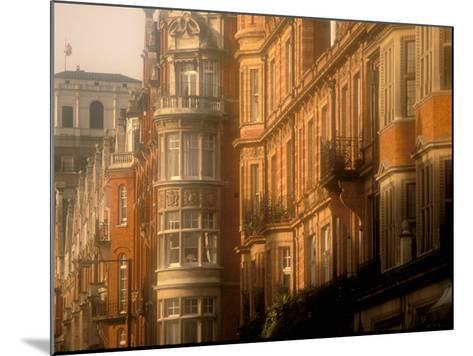 Buildings of Upper Grosvenor Street, Mayfair, London, England-Walter Bibikow-Mounted Photographic Print