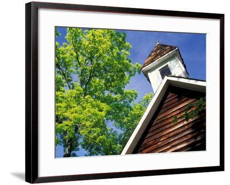 Old School House, Palisades Park, Alabama, USA-William Sutton-Framed Art Print