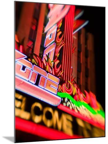 New York, New York Casino, Las Vegas, Nevada, USA-Walter Bibikow-Mounted Photographic Print