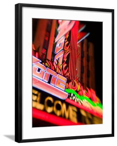 New York, New York Casino, Las Vegas, Nevada, USA-Walter Bibikow-Framed Art Print