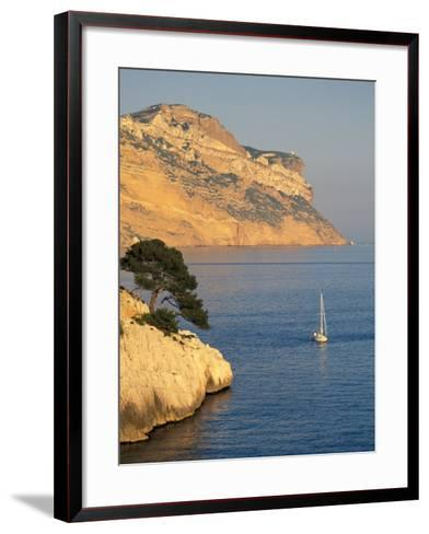 Les Calanques and Massif de la Canaile, Provence, France-David Barnes-Framed Art Print