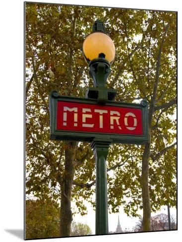 Metro, Paris, France-Lisa S^ Engelbrecht-Mounted Photographic Print