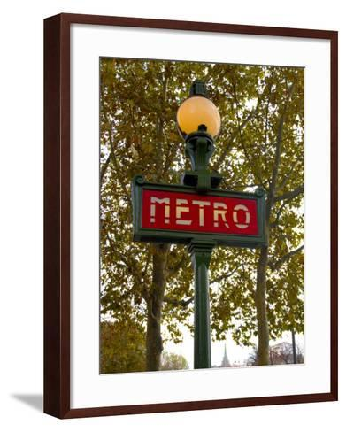 Metro, Paris, France-Lisa S^ Engelbrecht-Framed Art Print