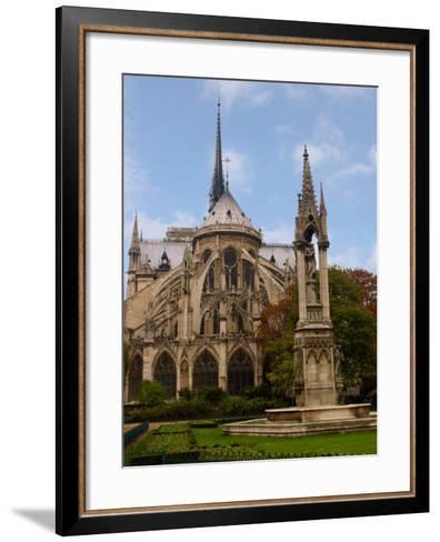 Flying Buttresses of Notre-Dame, Paris, France-Lisa S^ Engelbrecht-Framed Art Print