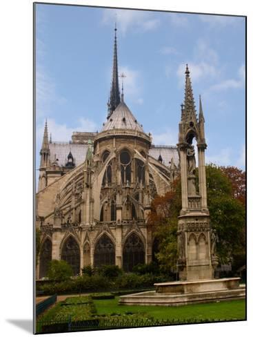 Flying Buttresses of Notre-Dame, Paris, France-Lisa S^ Engelbrecht-Mounted Photographic Print