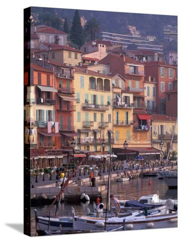 Villefranche, Cote D'Azur, France-Nik Wheeler-Stretched Canvas Print