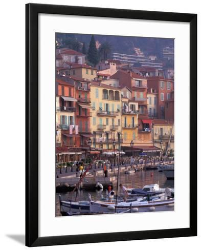 Villefranche, Cote D'Azur, France-Nik Wheeler-Framed Art Print