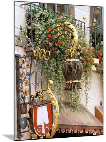 Traditional Handcrafted Sign, Munich, Germany-Adam Jones-Mounted Photographic Print