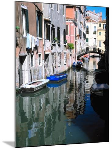 Canal in Venice, Italy-Julie Eggers-Mounted Photographic Print