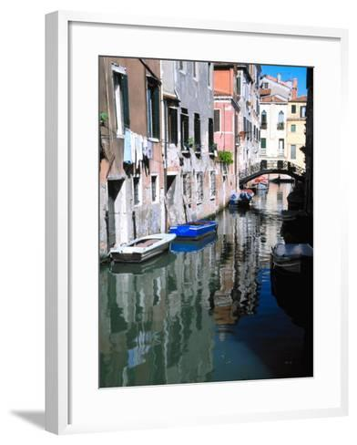 Canal in Venice, Italy-Julie Eggers-Framed Art Print
