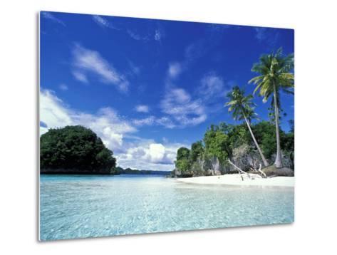 Bay of Honeymoon Island, World Heritage Site, Rock Islands, Palau-Stuart Westmoreland-Metal Print