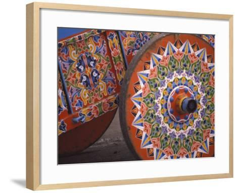 Colorful Cart, Sarchi, Costa Rica-Michele Westmorland-Framed Art Print