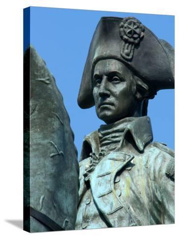 Statue of General George Washington, Washington DC, USA-Lisa S^ Engelbrecht-Stretched Canvas Print