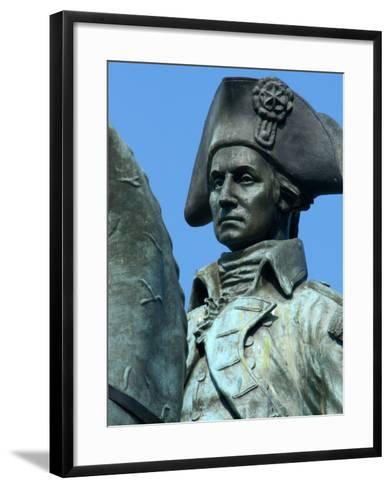 Statue of General George Washington, Washington DC, USA-Lisa S^ Engelbrecht-Framed Art Print