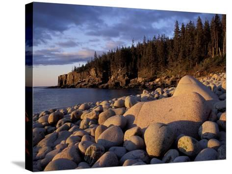 Otter Cliffs Fom Monument Cove, Maine, USA-Jerry & Marcy Monkman-Stretched Canvas Print