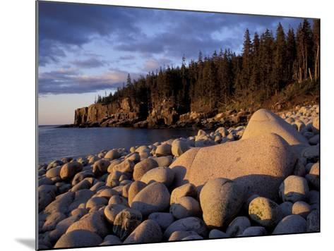 Otter Cliffs Fom Monument Cove, Maine, USA-Jerry & Marcy Monkman-Mounted Photographic Print