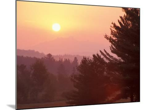 Sunrise in the Nulhegan River Valley, Northern Forest, Island Pond, Vermont, USA-Jerry & Marcy Monkman-Mounted Photographic Print