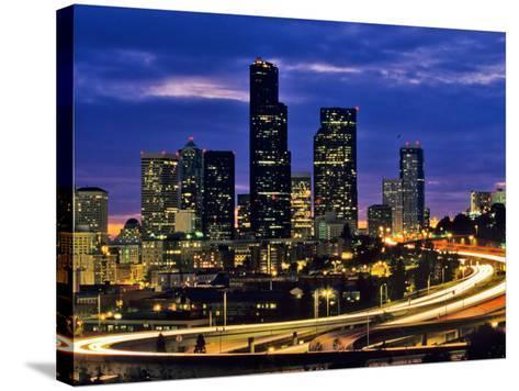 Seattle, Washington, USA-Chuck Haney-Stretched Canvas Print