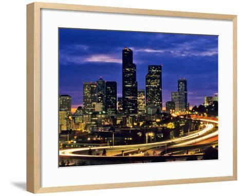 Seattle, Washington, USA-Chuck Haney-Framed Art Print