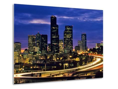 Seattle, Washington, USA-Chuck Haney-Metal Print