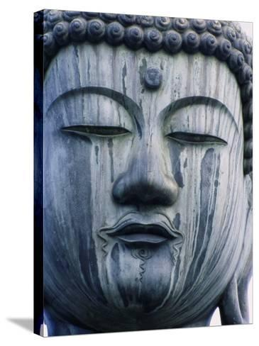 Buddha Statue Japan--Stretched Canvas Print