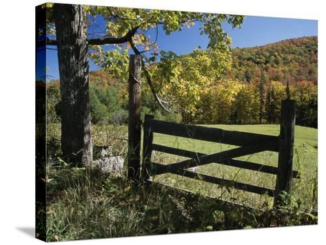 East Orange, Vermont, USA--Stretched Canvas Print