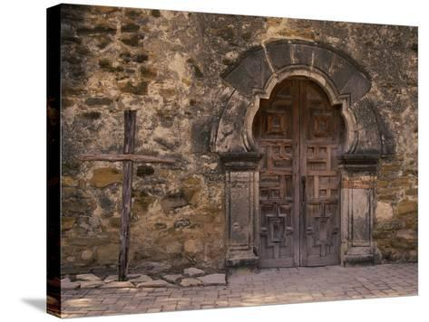 Mission Espada, San Antonio, Texas, USA--Stretched Canvas Print