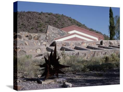 Taliesin West by Frank Lloyd Wright, Arizona, USA--Stretched Canvas Print