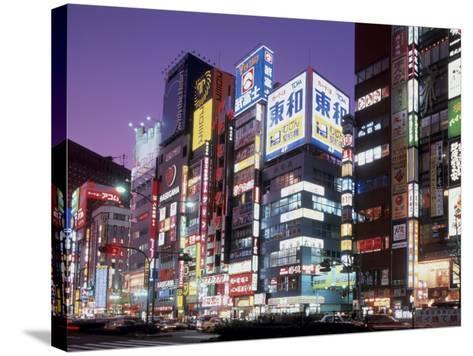 Shinjuku, Japan--Stretched Canvas Print