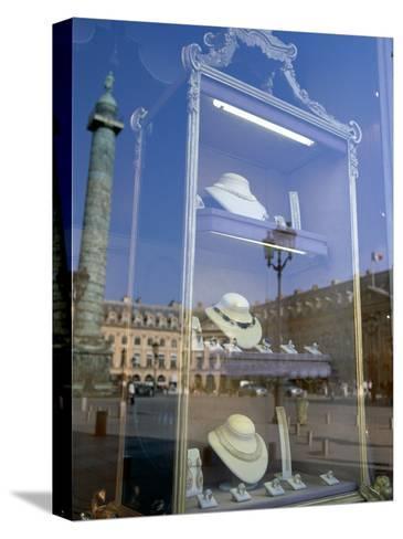 Jewelry Store, Place Vendome, Paris, France--Stretched Canvas Print