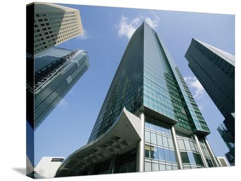 Shiodome Shiosite, Tokyo, Japan--Stretched Canvas Print