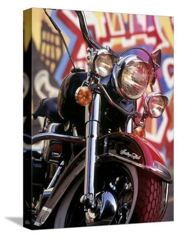 Harley Davidson Heritage Softail Made 1991 from a 1936 Style--Stretched Canvas Print