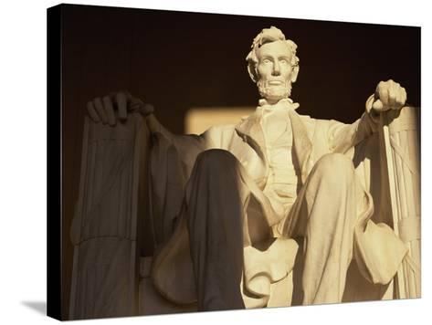 Lincoln Memorial, Washington, D.C., USA--Stretched Canvas Print