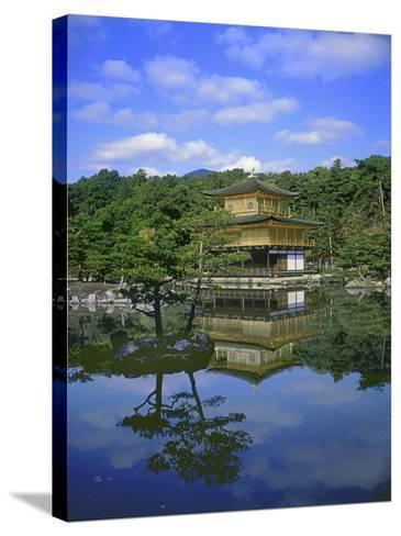 Kinkakuji Temple, Kyoto, Japan--Stretched Canvas Print