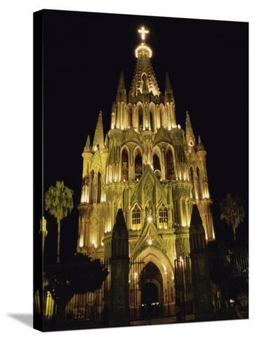 La Parroquia Church, San Miguel de Allende, Mexico--Stretched Canvas Print