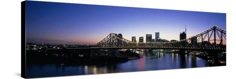 Storey Bridge, Brisbane, Australia--Stretched Canvas Print