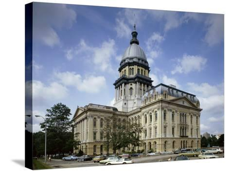 State Capitol, Springfield, Illinois, USA--Stretched Canvas Print