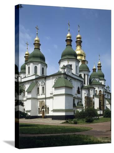 St. Sophia's Cathedral, Kiev, Ukraine--Stretched Canvas Print