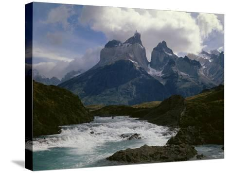Torres Del Paine National Parkchile--Stretched Canvas Print