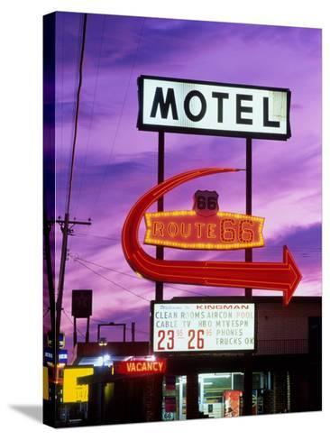 Route 66, Arizona, USA--Stretched Canvas Print