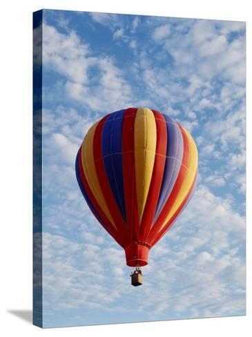 Colorful Hot Air Balloon in Sky, Albuquerque, New Mexico, USA--Stretched Canvas Print