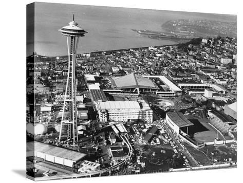 This is a Photo of Seattle During the World's Fair--Stretched Canvas Print