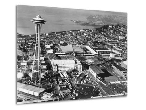 This is a Photo of Seattle During the World's Fair--Metal Print