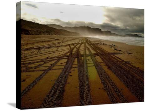 Beach on the Island of Islay in Scotland--Stretched Canvas Print