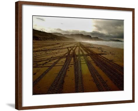 Beach on the Island of Islay in Scotland--Framed Art Print