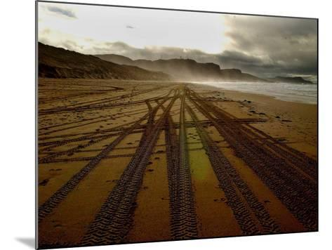 Beach on the Island of Islay in Scotland--Mounted Photographic Print